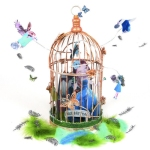Claire Montgomery Design- The Girl and the Birds