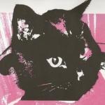 Claire Montgomery Design- Black Cat