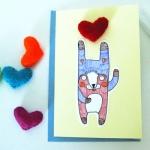 Little Things I Make Fox Card