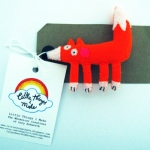 Little Things I Make Fox Brooch