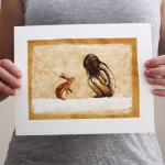 Beetle-cherry-illustration
