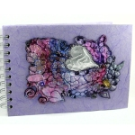 Georgie Arts- Embroidered Notebook