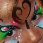 Sparkles Face Painting