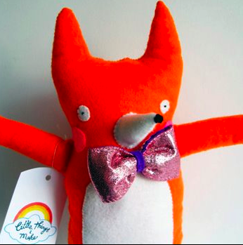 Fox with Bow by Little Things I Make