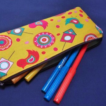 Pencil case by Pomelo Crafts