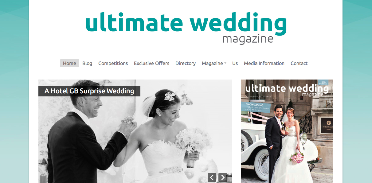 A Guest Post From   Ultimate Wedding Magazine - The Fairy Tale Fair