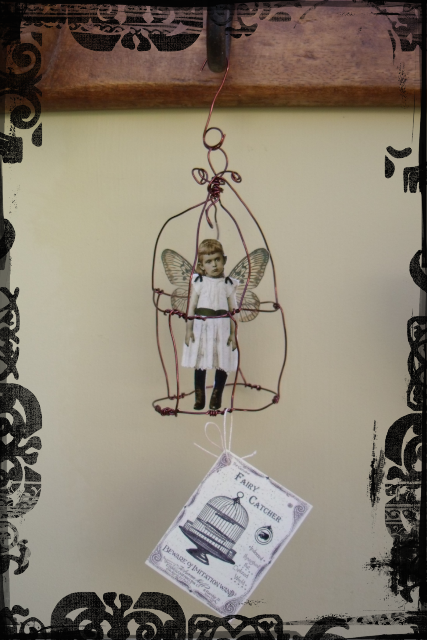 fairy cage handmade