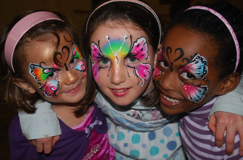 Children's Face Painting Design