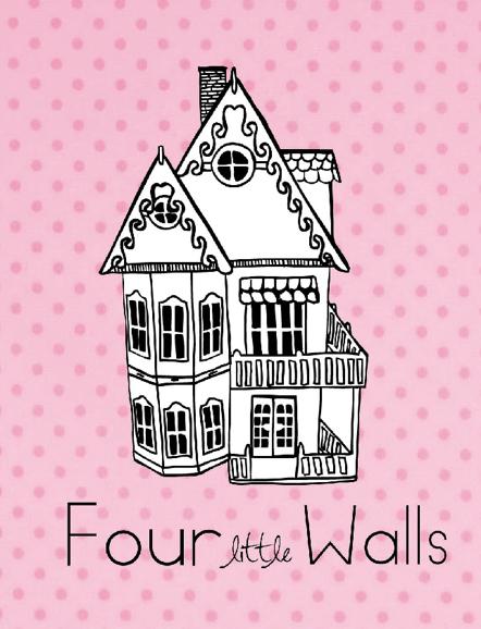 four little walls dolls house