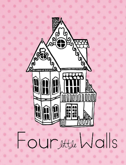 four little walls dolls house