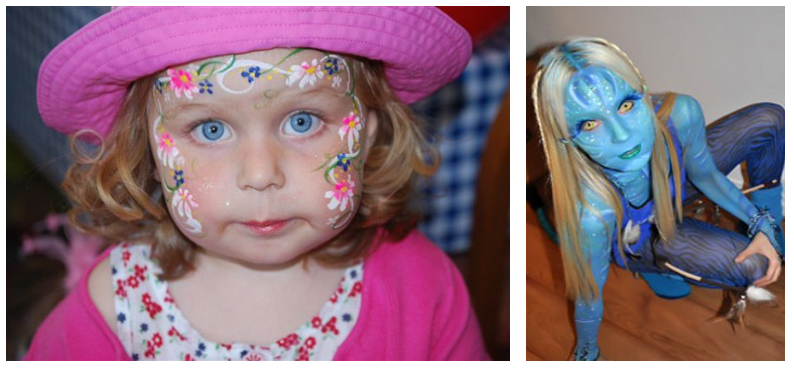 Face Painting Body Art Sussex
