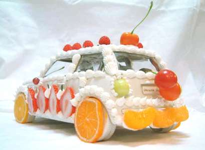 yes, that is a candy mini cooper! Put us down for one of those please.