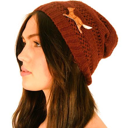 fox brooch hat
