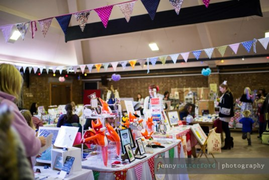 Bunting in action at our Spring fair