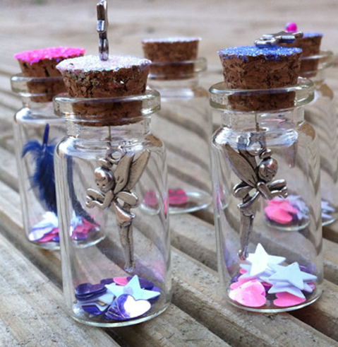 Fairy wand and wish jar donated by Fairy Wishes