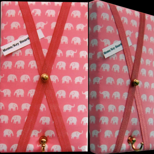 'Elephants Never Forget' Little Key Hanger Board donated by beautiful and useful
