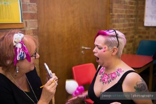 Sparkles Face Painting wows Ilona's Kitschen