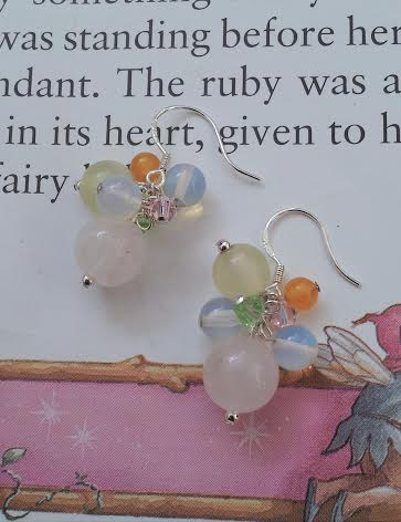 silver earrings handmade fairy tale fair patcham