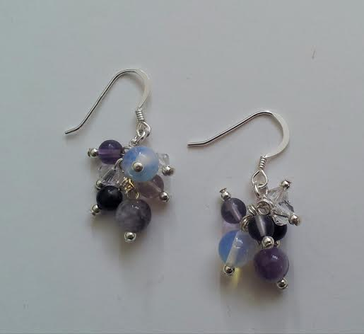 handmade silver earrings brighton