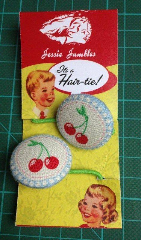 Hair ties by Jessie Jumbles